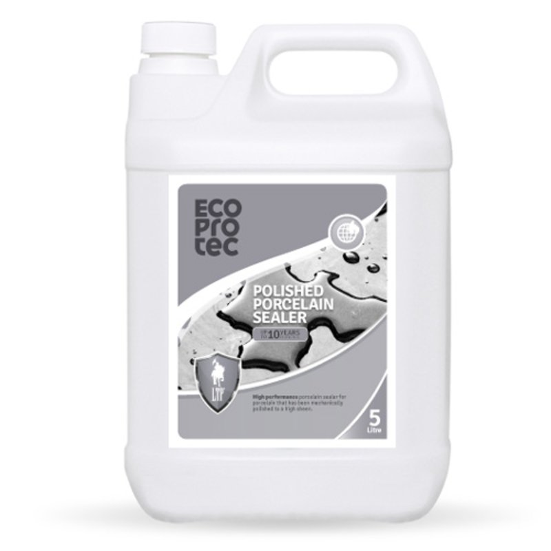 LTP Ecoprotec Polished Porcelain Sealer - 5L - Clear