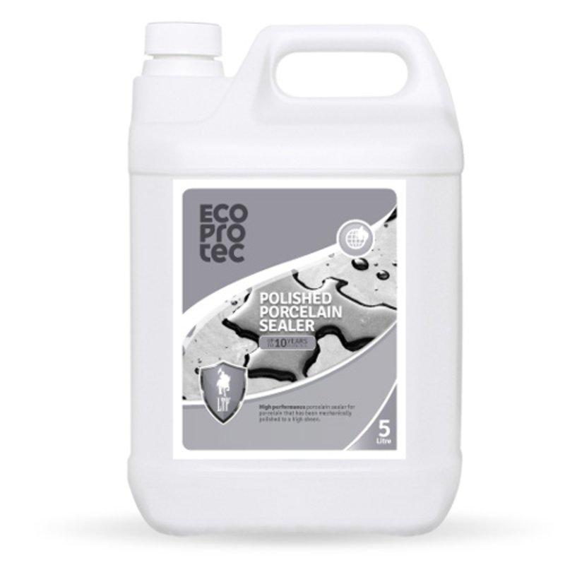 LTP Ecoprotec Polished Porcelain Sealer - 5L - Clear