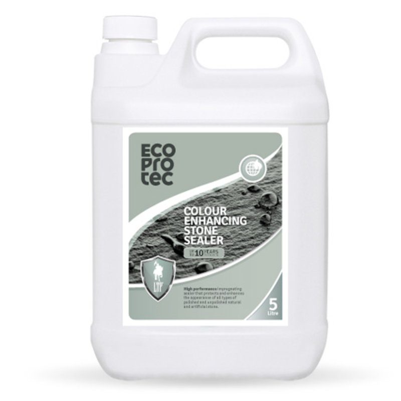LTP Ecoprotec Colour Enhancing Stone Sealer - 5L - Clear