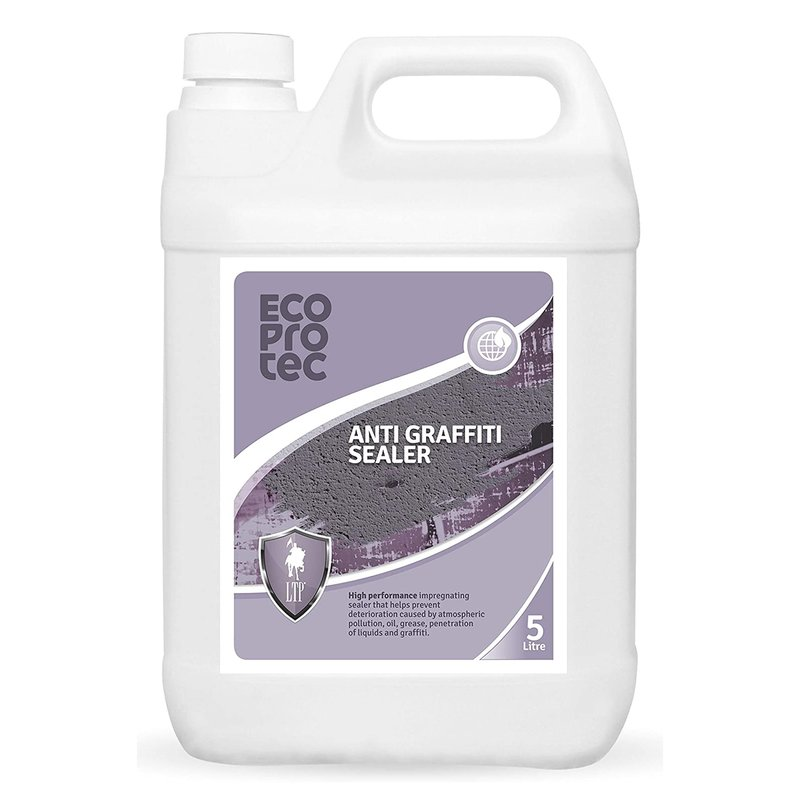 LTP Ecoprotec Anti-Graffiti Sealer - 5L - Clear