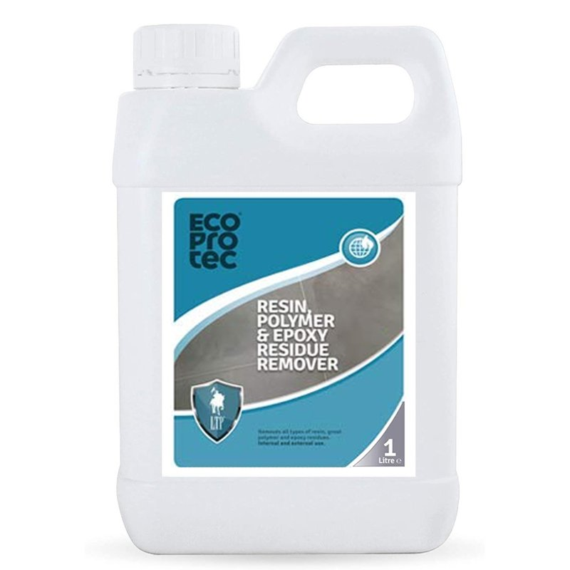 LTP Ecoprotec Resin, Polymer & Epoxy Residue Remover - 1L - Clear