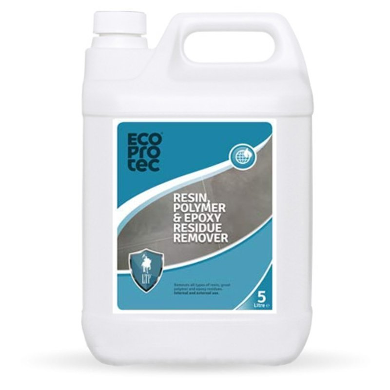 LTP Ecoprotec Resin, Polymer & Epoxy Residue Remover - 5L - Clear