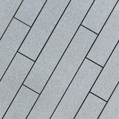 Dark Grey Sawn Flamed Natural Granite Planks