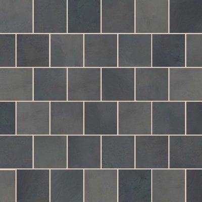 Brazilian Black Sawn Natural Slate Tiles (600x600 Packs)