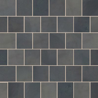 Brazilian Black Sawn Natural Slate Tiles (600x600 Packs)