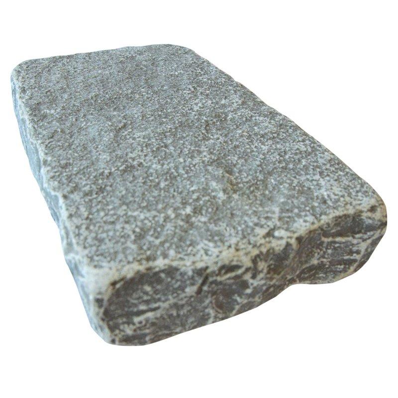 Graphite Cropped Natural Limestone Block Paving (150x250 Size) - Graphite