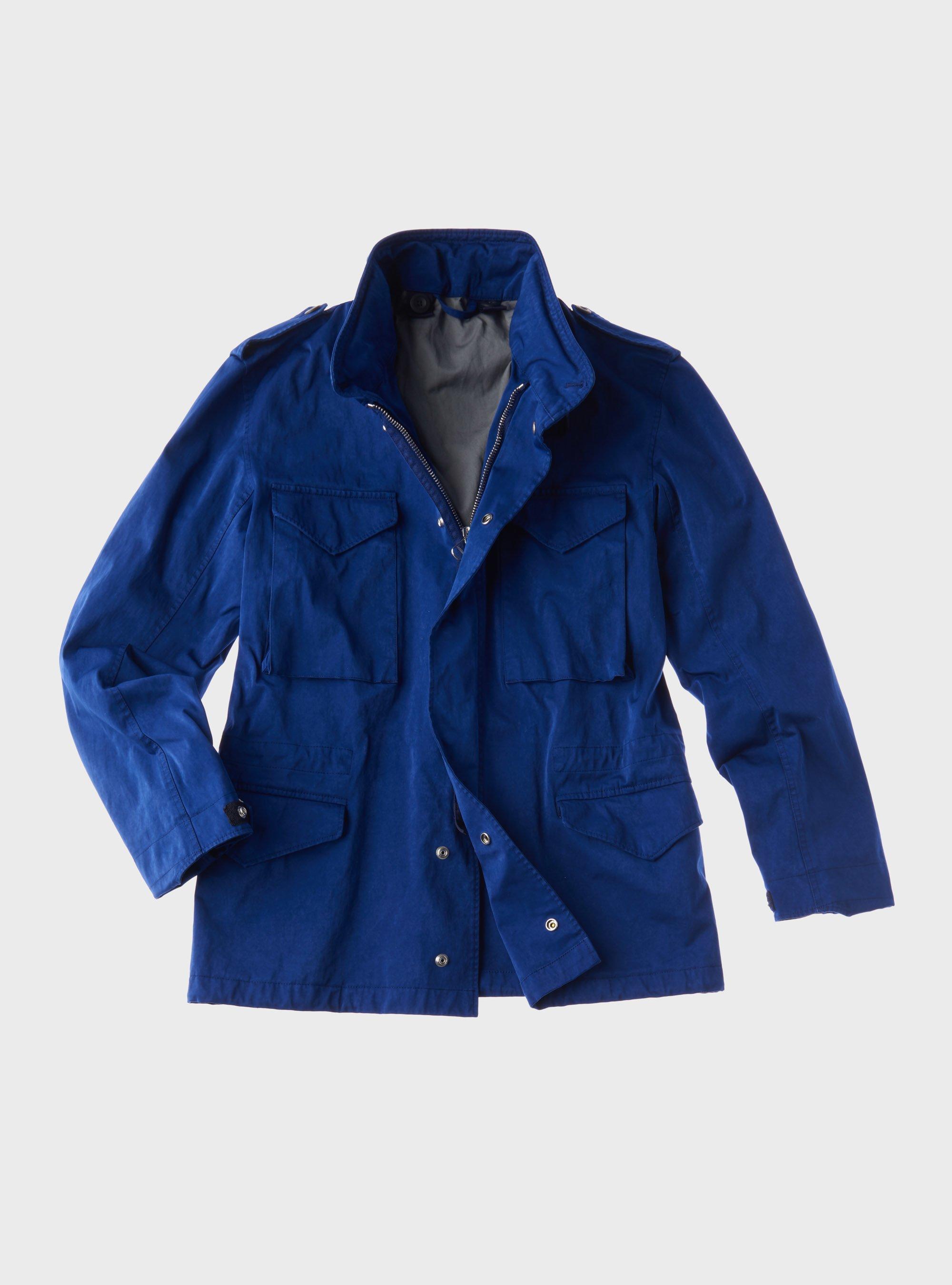 TEN C - FIELD JACKET - Blue Sapphire - TEN C