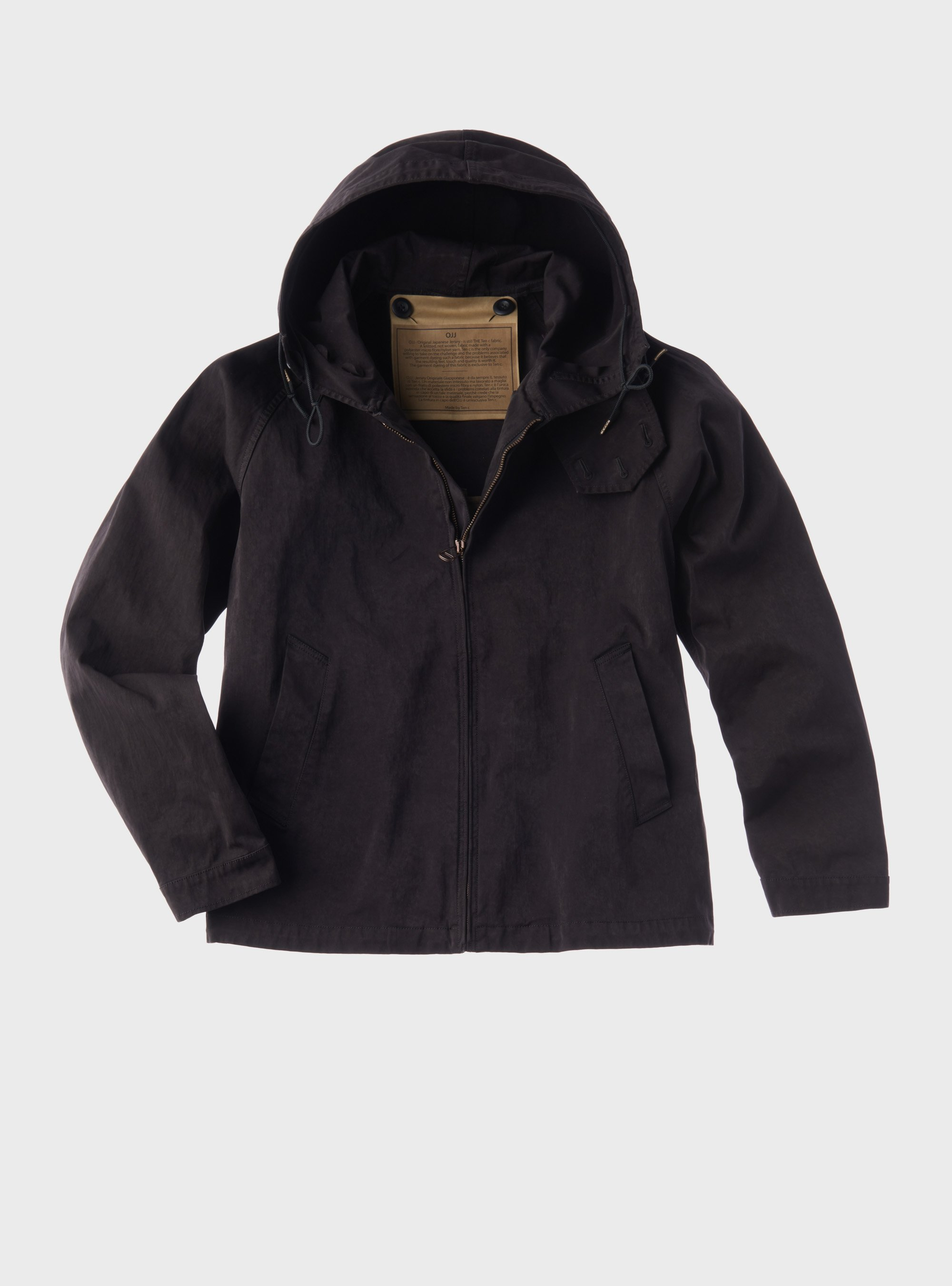 TEN C - ANORAK - Black - TEN C