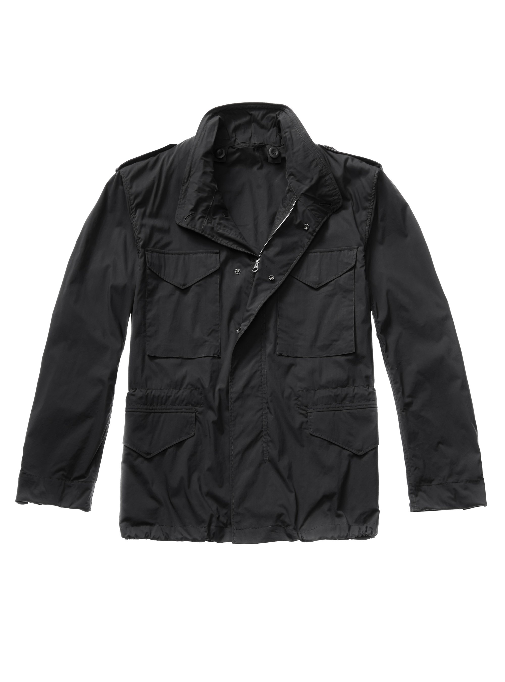 TEN C - FIELD JACKET - SUMMER EDIT - Black - TEN C