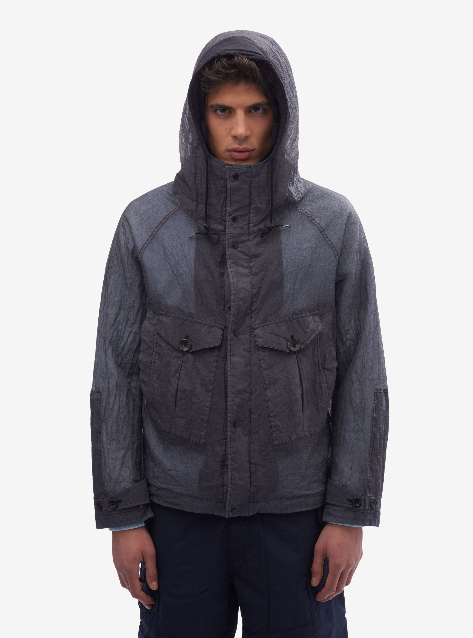 TEN C - TEMPEST ANORAK - SUMMER EDIT - Black - TEN C