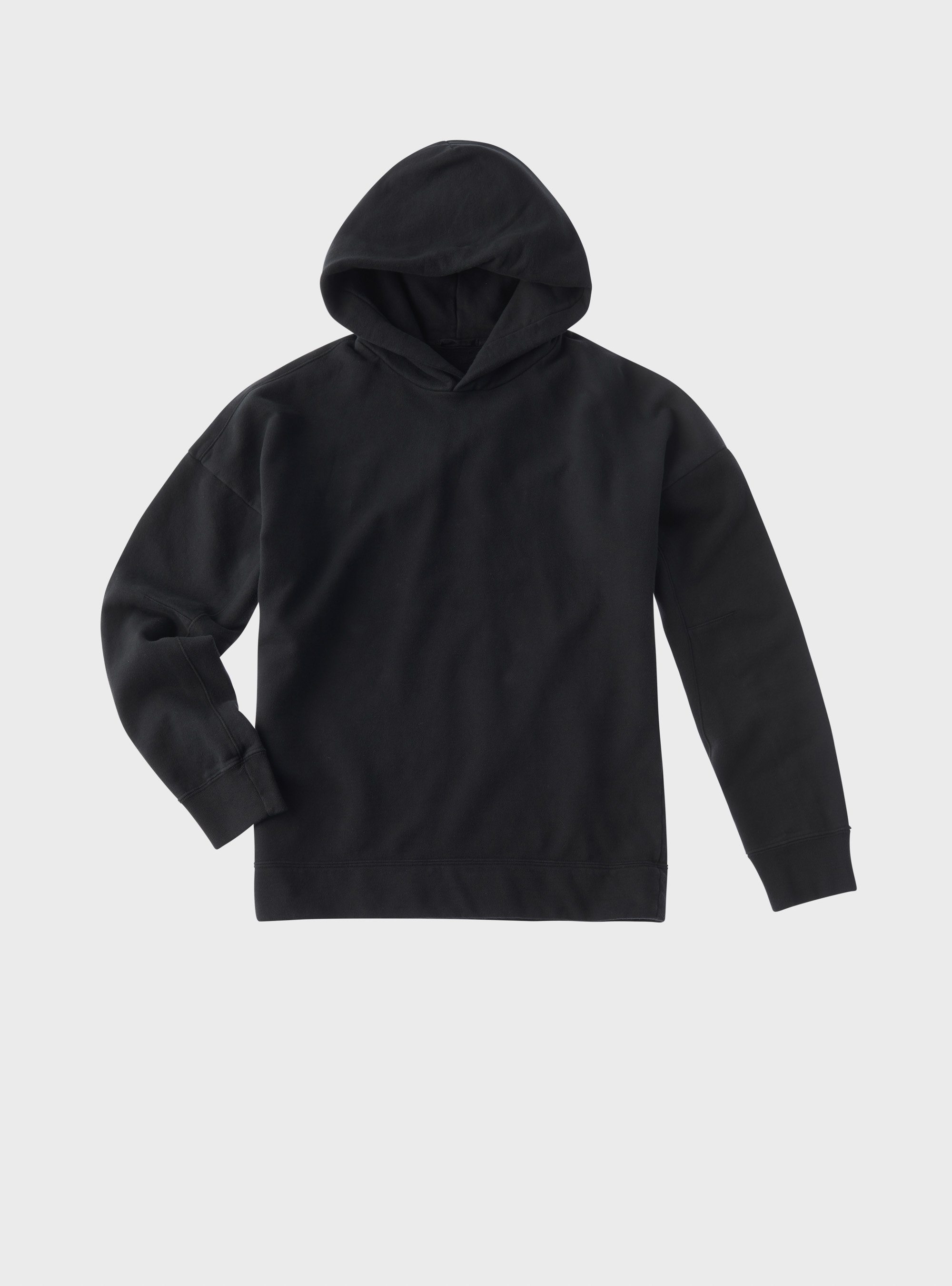TEN C - HOODED SWEATER - Black - TEN C