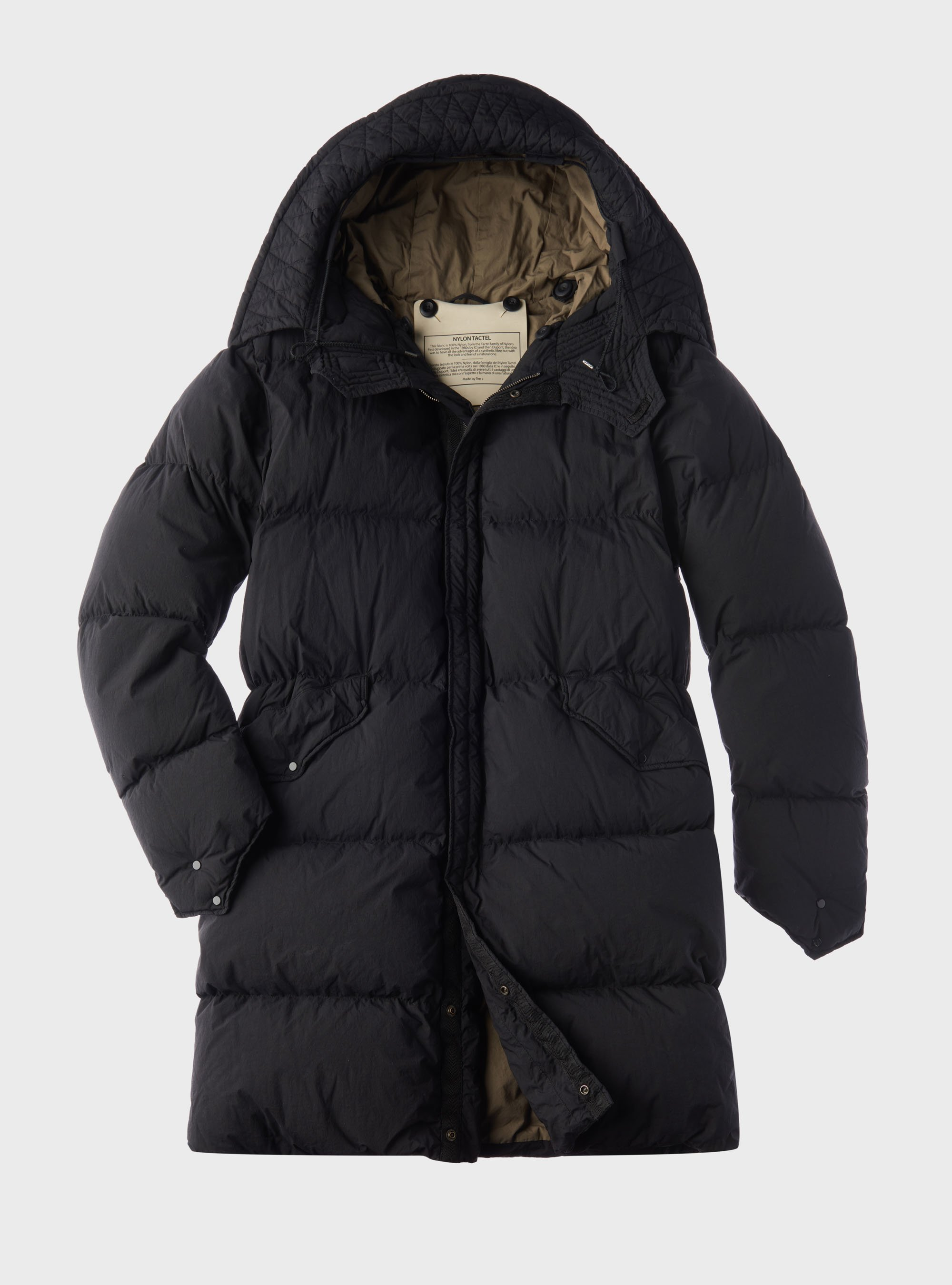 TEN C - MOUNTAIN RESCUE DOWN PARKA - Black - TEN C
