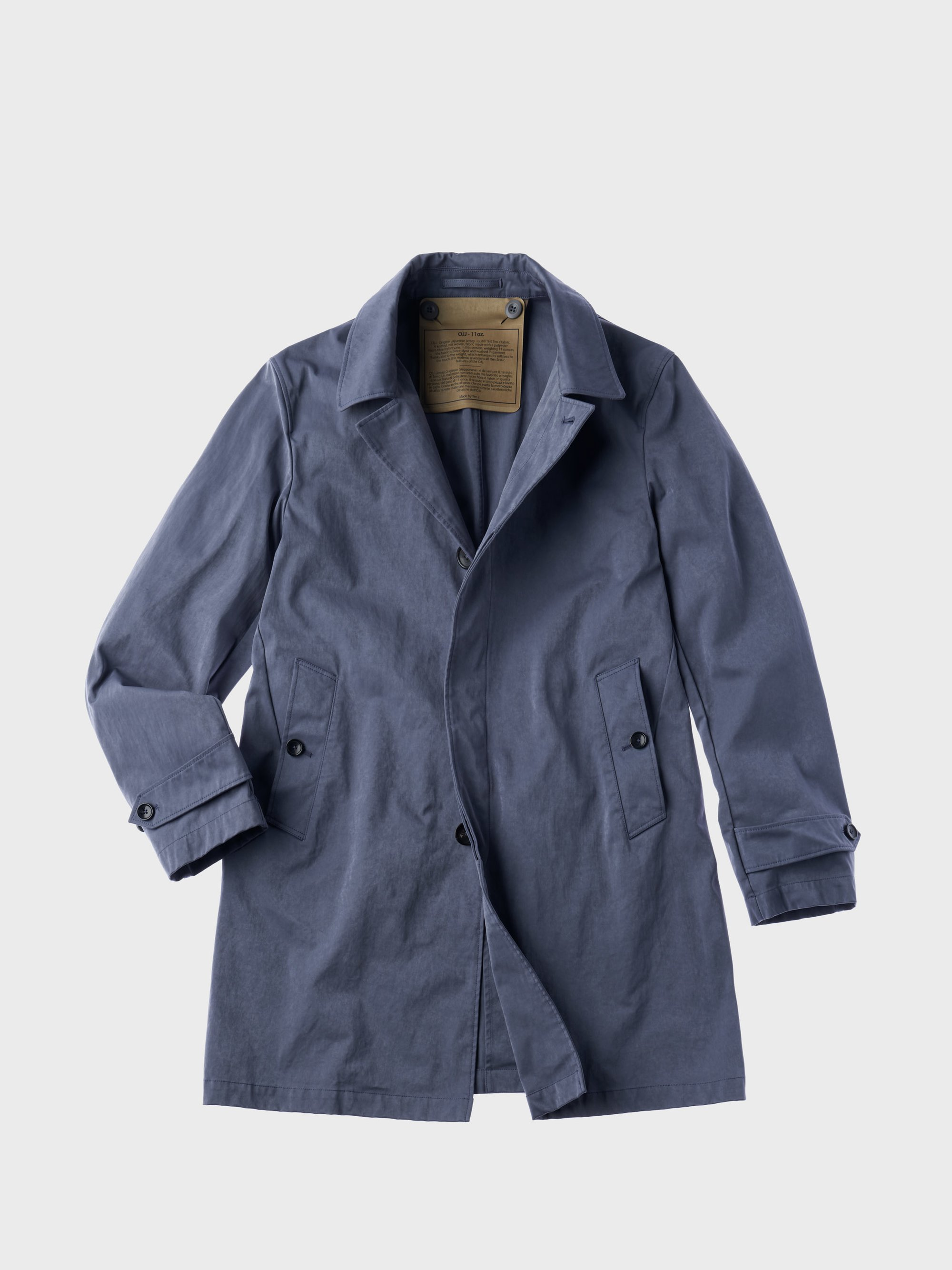 TEN C - CAR COAT - China Blue - TEN C