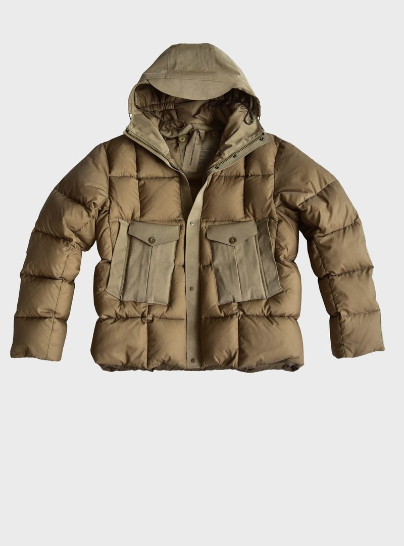 TEMPEST COMBO DOWN JACKET