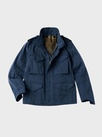 TEN C - SHORT FIELD JACKET - Dark Denim - TEN C