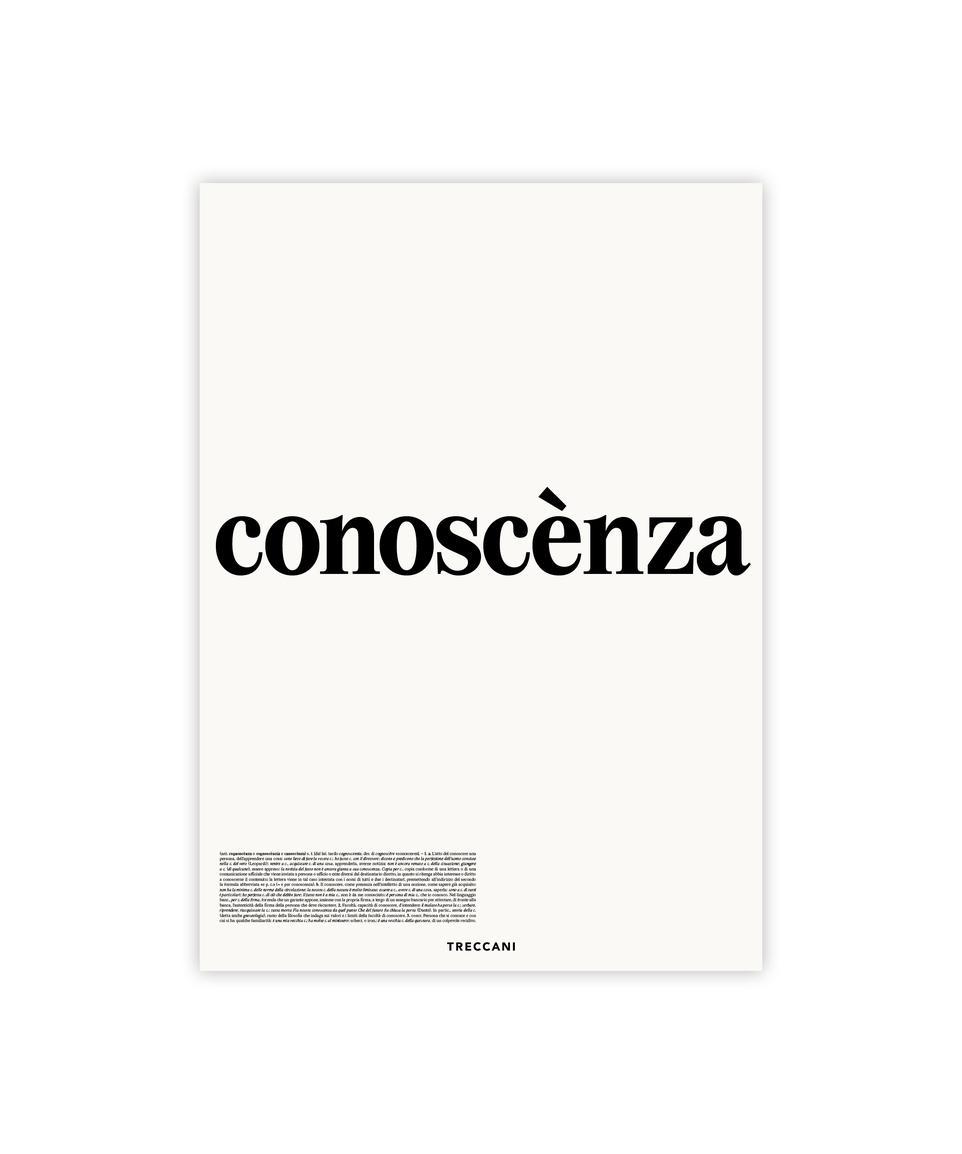 Conoscenza Poster