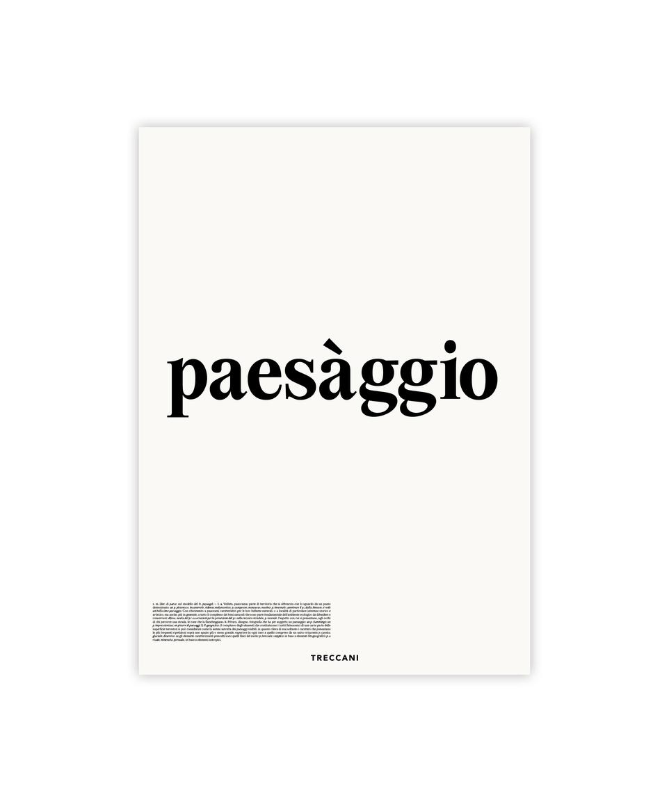 Poster Paesaggio