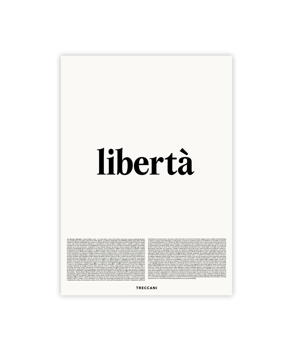 Libertà Poster
