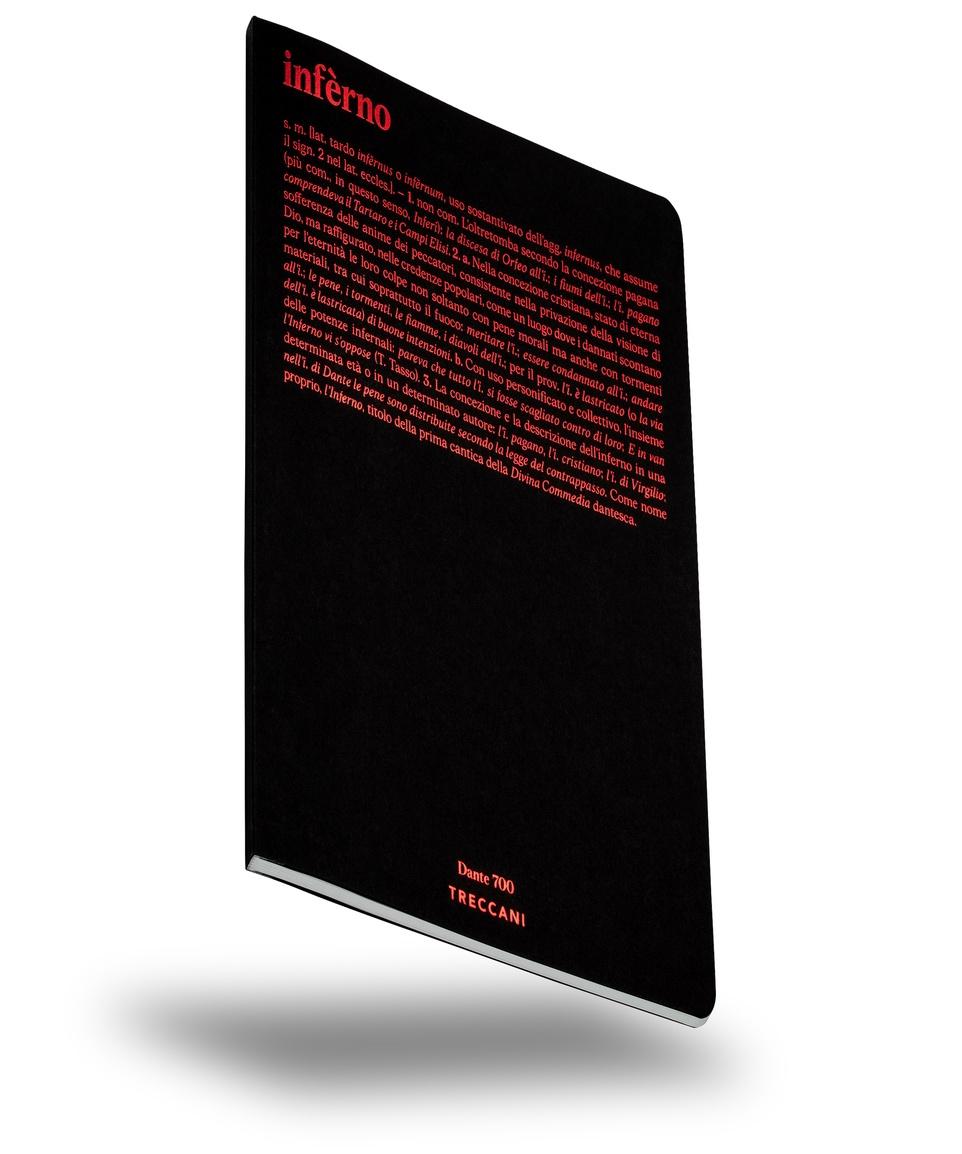 Quaderno Dante 700 Inferno