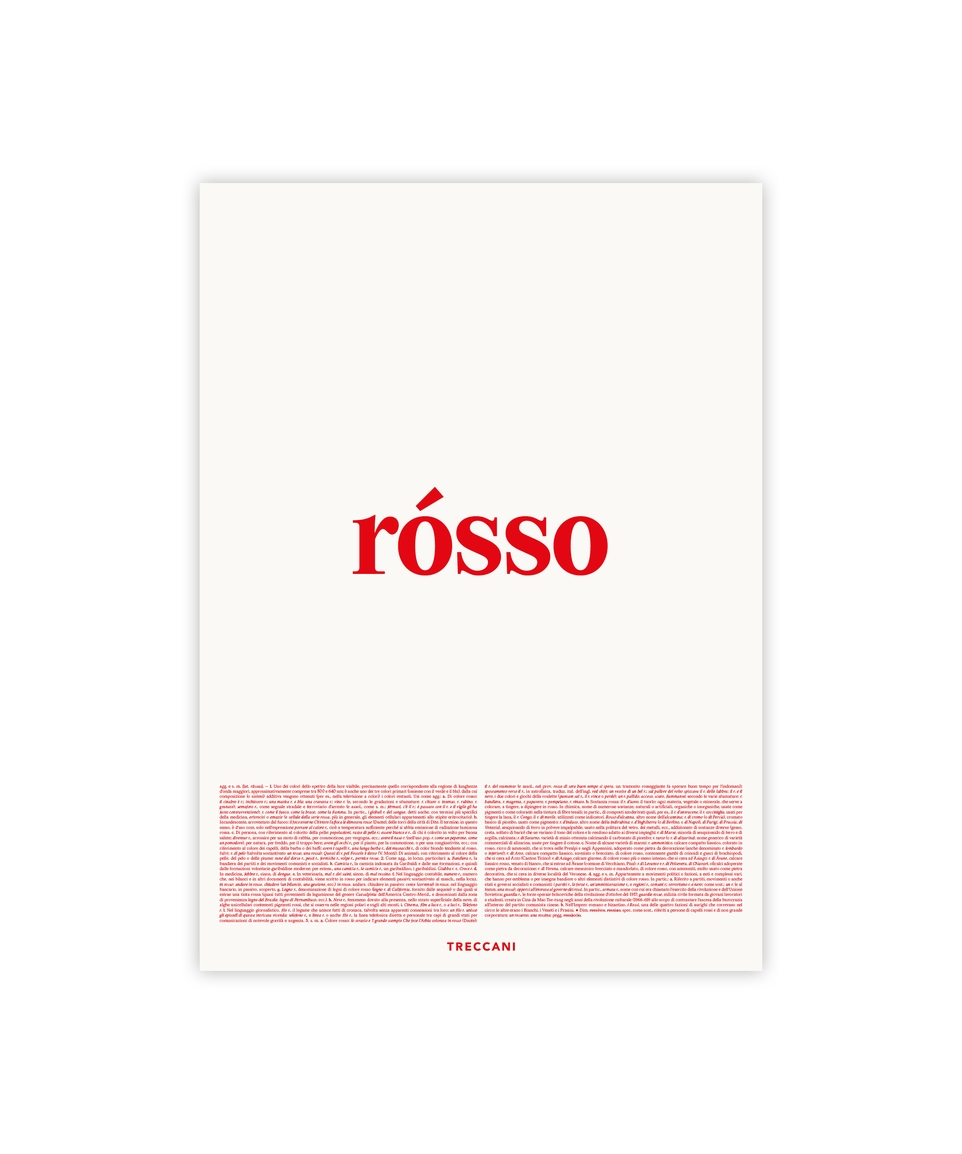 POSTER ROSSO