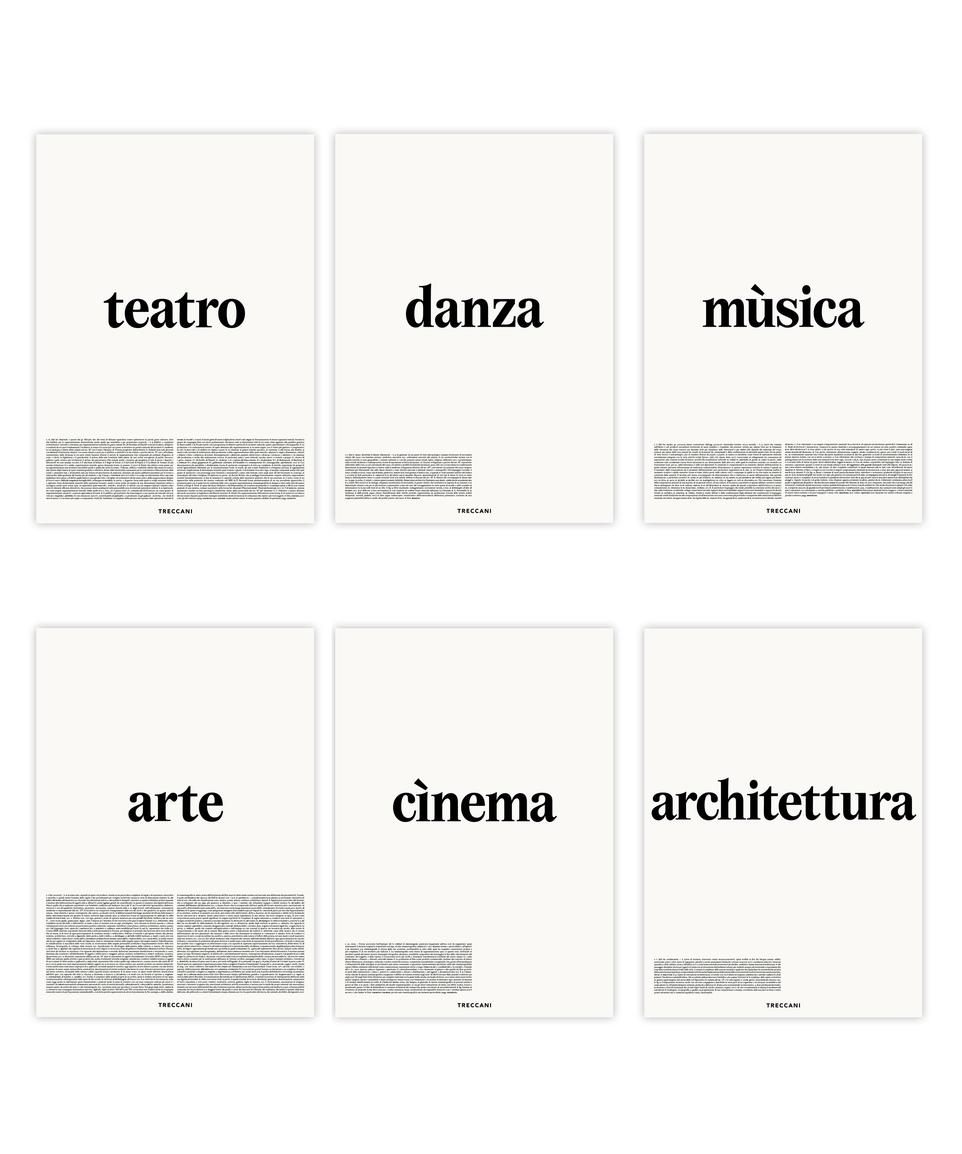Set Poster Treccani Arte X Definizione