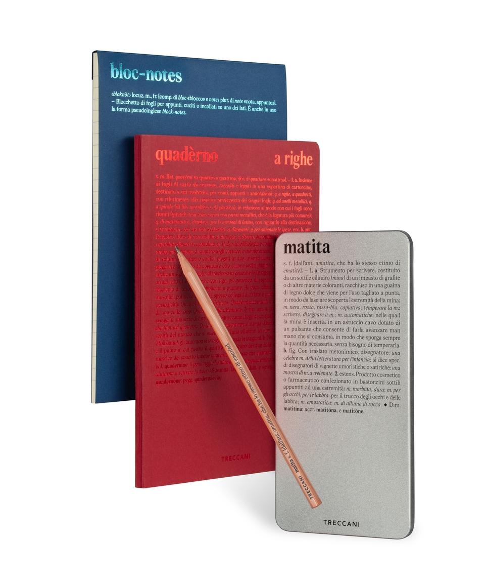 Quaderno, Bloc-notes e Box matite