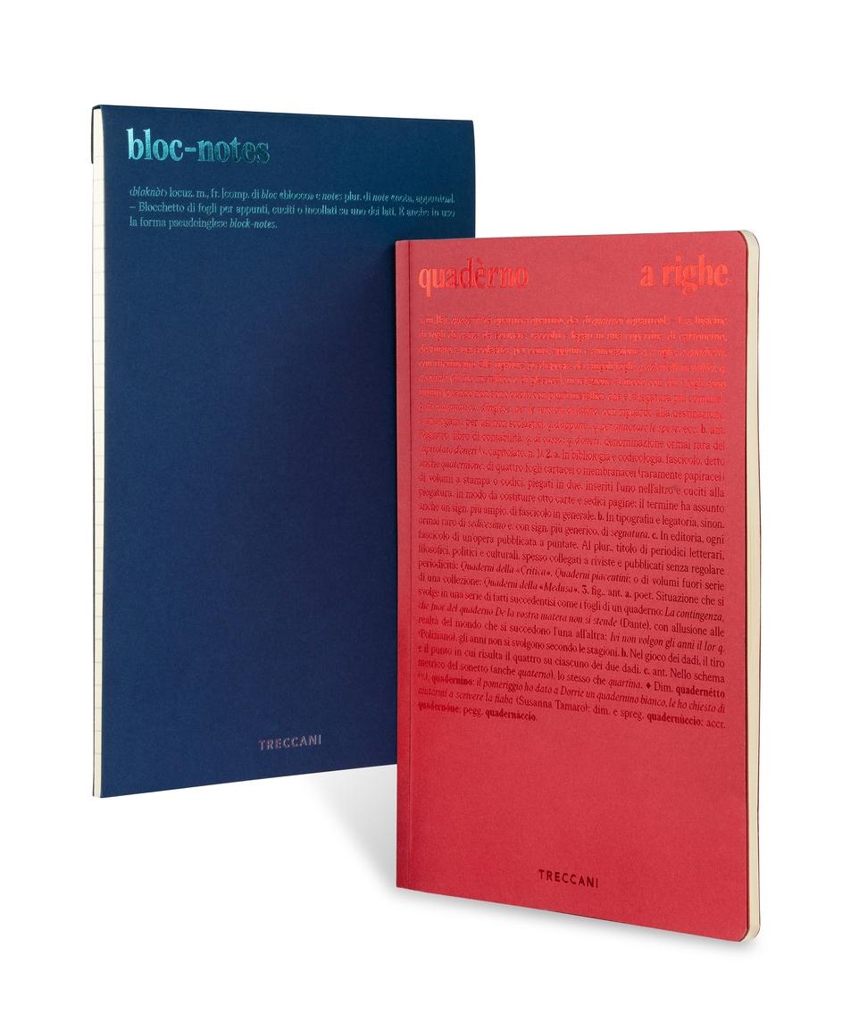 Quaderno e blocco note