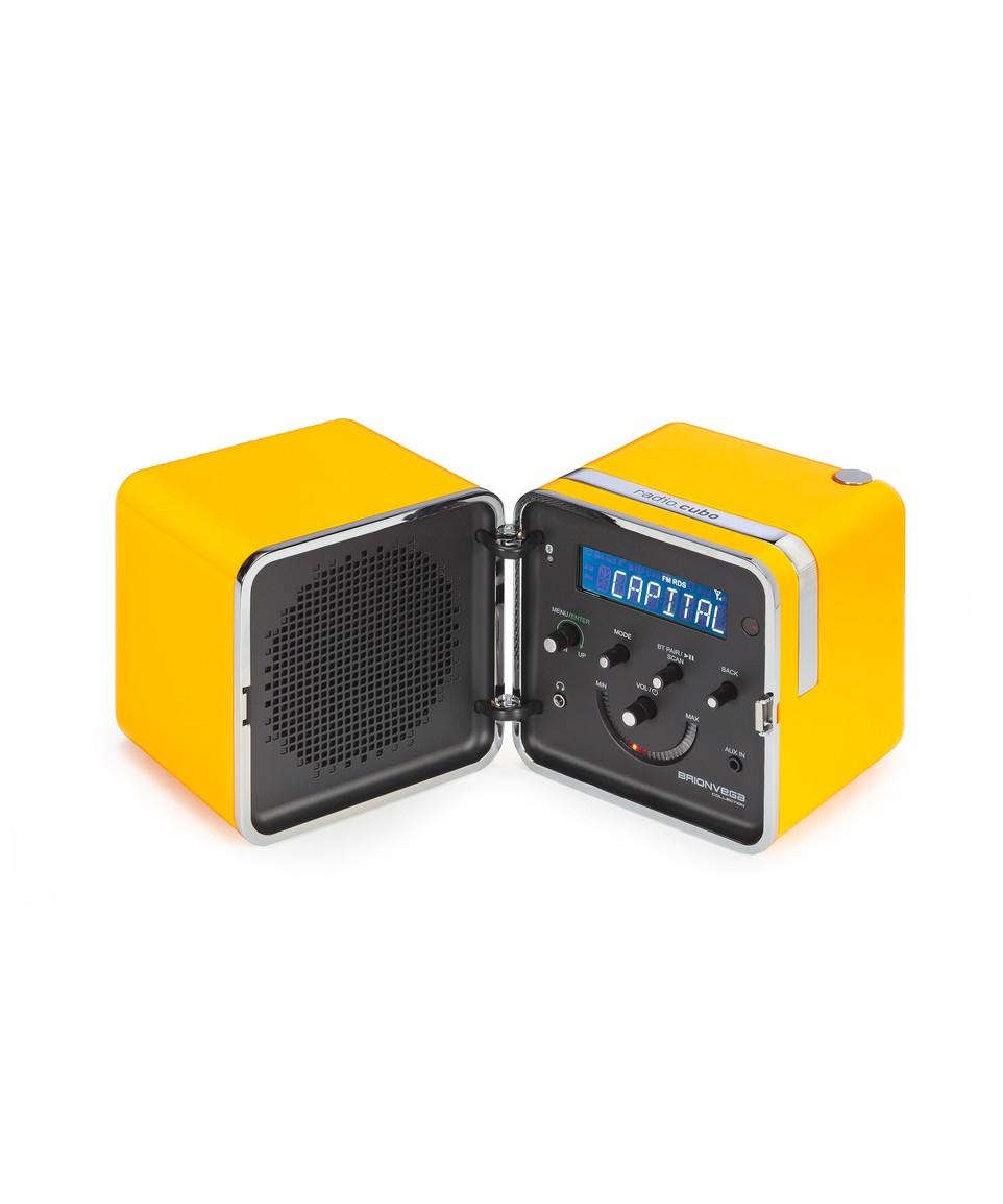 Radio Cubo 50th anniversary Giallo Sole