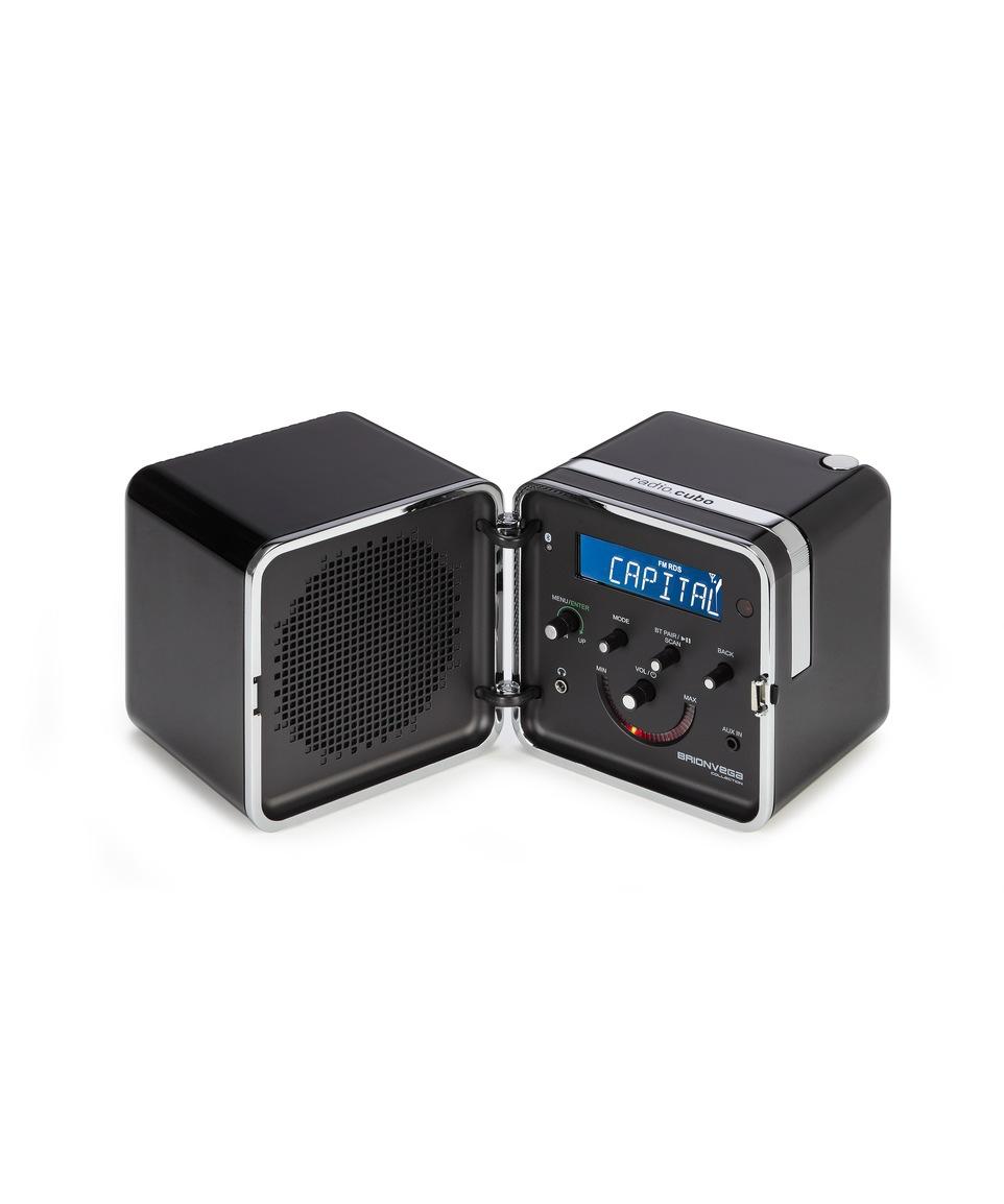 Radio Cubo 50th anniversary Nero Notte