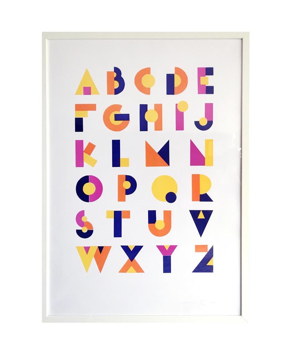 Alfabeto Futurista (Futurist Alphabet)