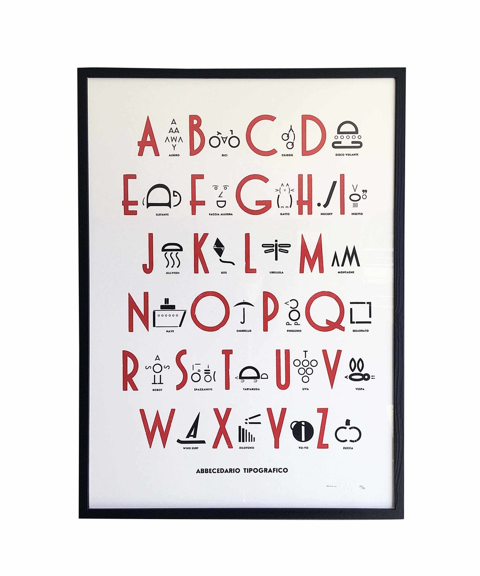 Abbecedario Tipografico