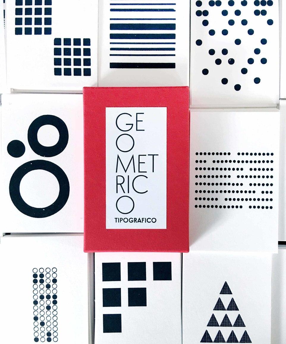 Geometrico Tipografico (Geometric Printing)