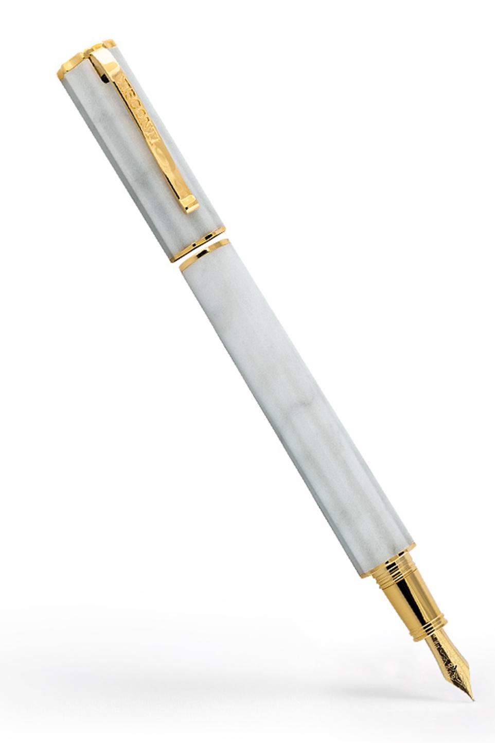 San Miniato penna stilografica - Marmo Bianco