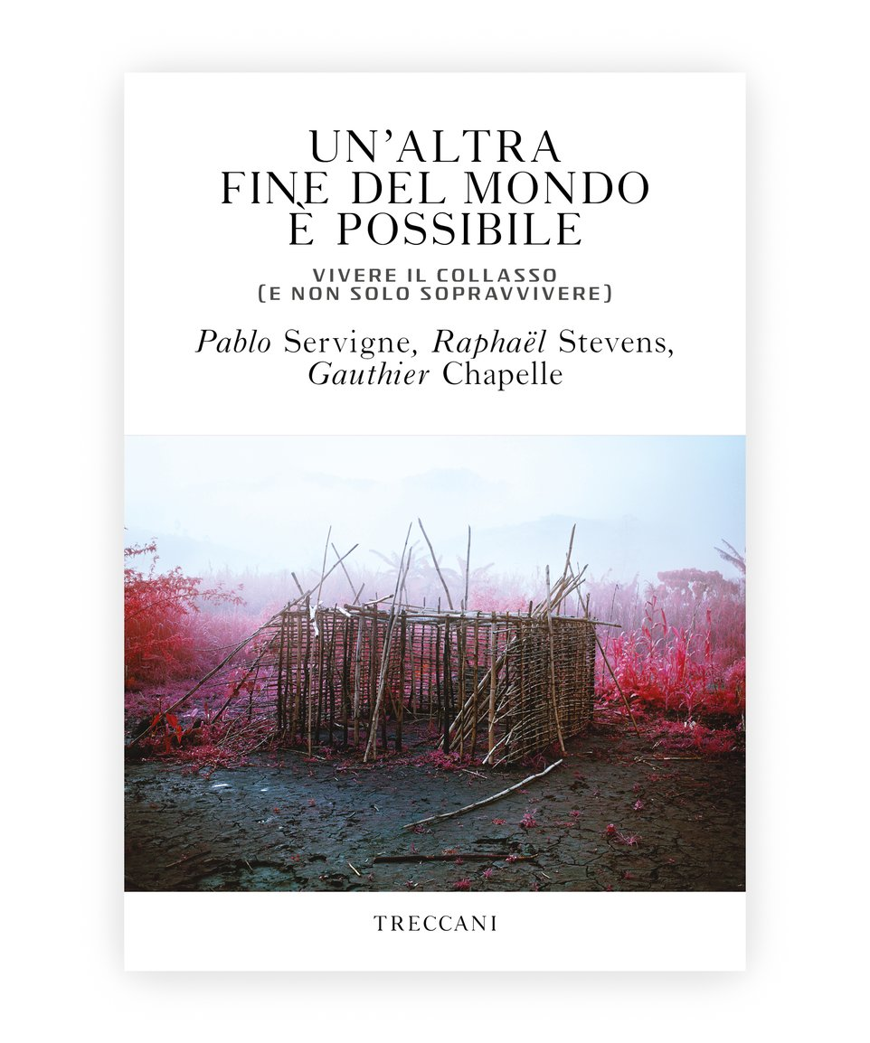 Un'altra fine del mondo è possibile / Another end of the world is possible. Experiencing collapse (not only hoping to survive), by Pablo Servigne, Raphaël Stevens and Gauthier Chapelle