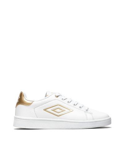 Break W lace-up sneakers with iridescent details - Gold