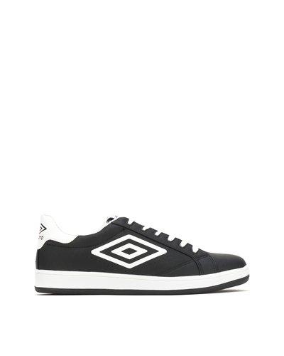 Sneaker con logo e suola sagomata