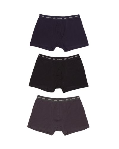 3 pack boxers stretch cotton with logo