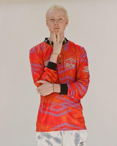 Aries x Umbro - Long sleeve football top