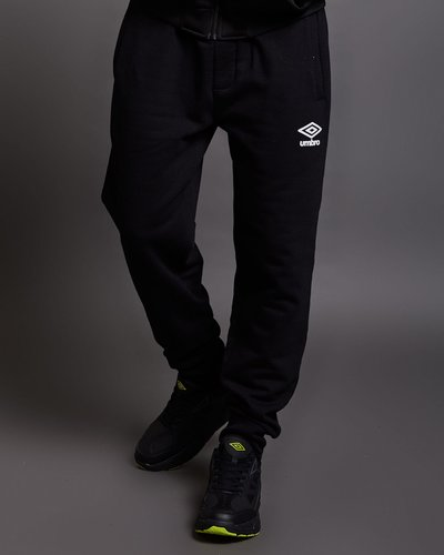 Pantaloni in cotone garzato con dettaglio neon