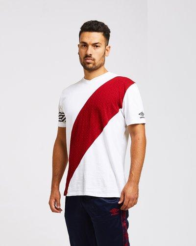 T-shirt con logo pattern