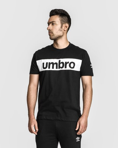 Cotton t-shirt with print - Black