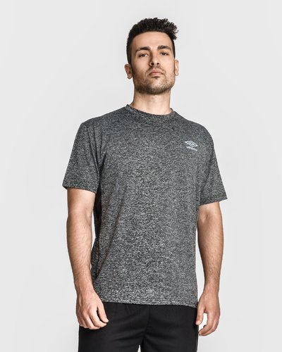 Sport t-shirt with logo - Black
