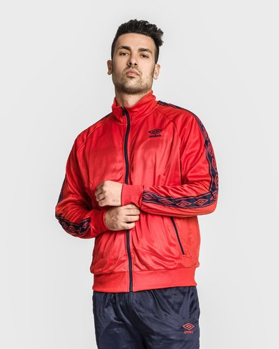 Triacetate track jacket