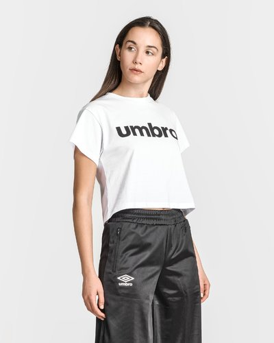 Cotton cropped t-shirt