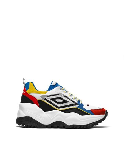 Konseki-5 – Panel design chunky sneakers