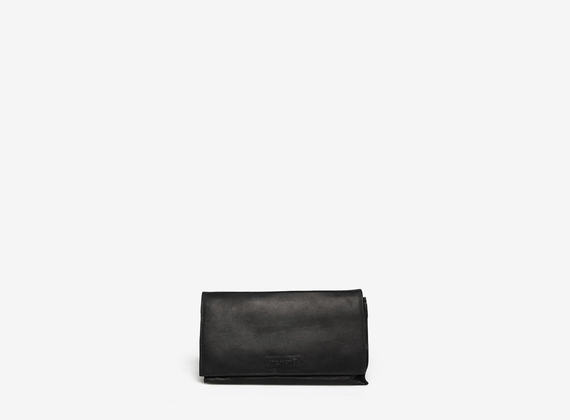 Multi-compartment clutch bag