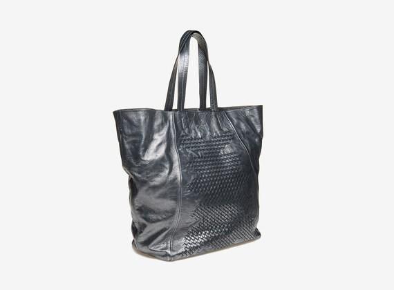 Shopping bag intrecciata