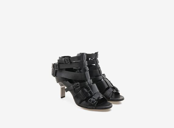 Multi buckle sandal