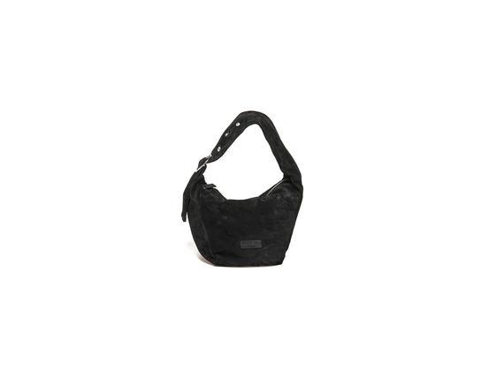 Mini sacca in camoscio - Nero
