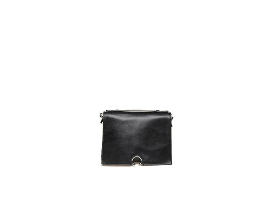 Mini black briefcase with piercing
